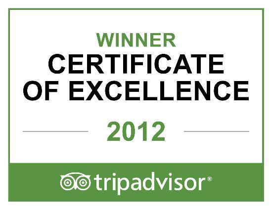 Welgelegen: Certificate of Excellence