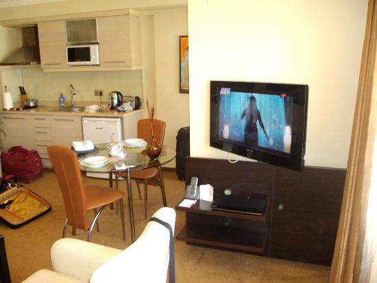 Izmir Comfort Hotel: salle à manager