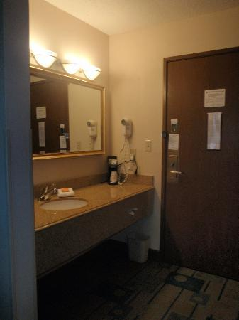 La Quinta Inn & Suites Plattsburgh: wash area