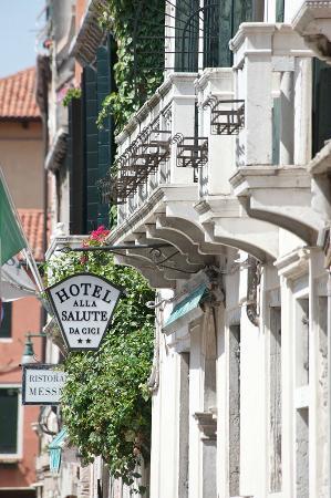 Hotel alla Salute: Facade