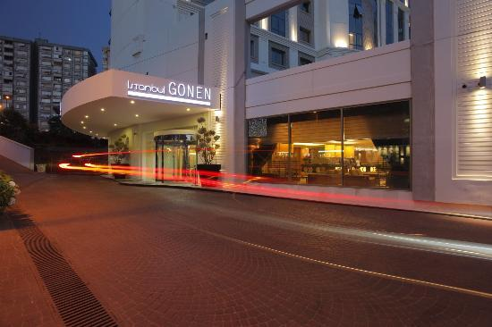 Istanbul Gonen Hotel : Entrance