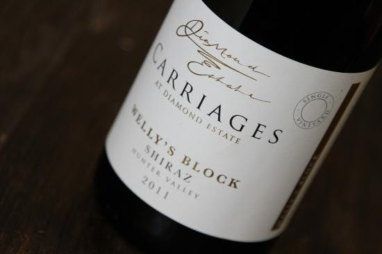 Carriages Boutique Hotel & Vineyard: CARRIAGES Welly's Block Shiraz