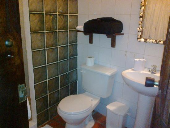 Posada Movida: Baño, muy limpio