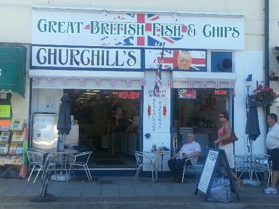 Churchills Fish and Chips: churchills