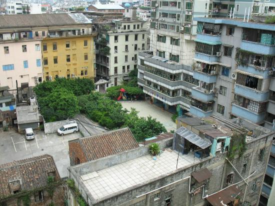 Guang Dong Hotel Guangzhou: 9階の部屋からの眺め