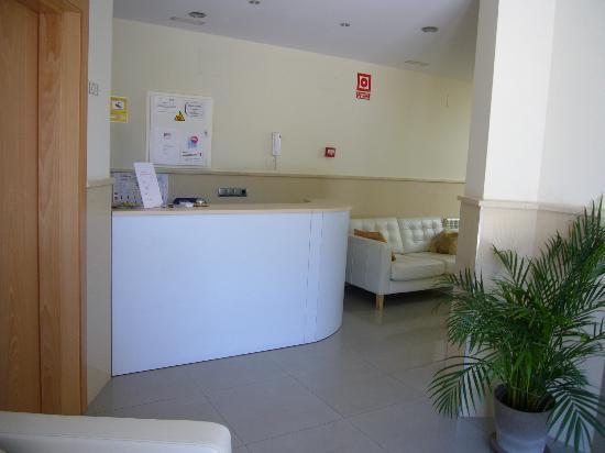 Hotel Puerta de la Santa: recepción