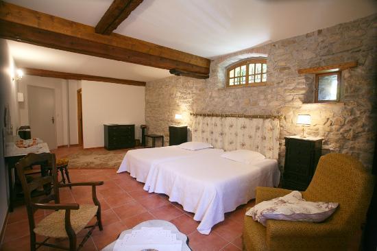 Villelongue Cote Jardins : Chambre 4 Napoléon III