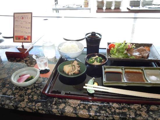 Hotel Granvia Hiroshima: todo el menú (menos el postre)