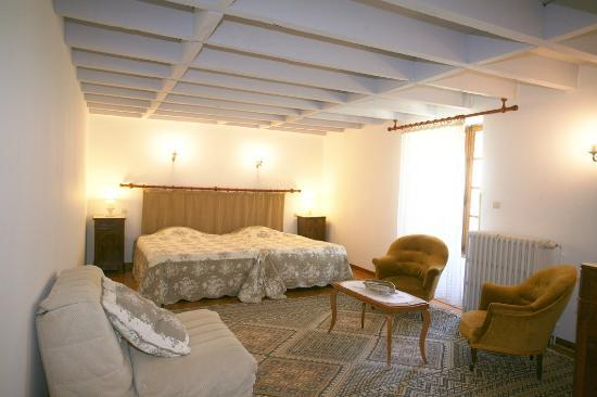 Villelongue Cote Jardins : Chambre 2