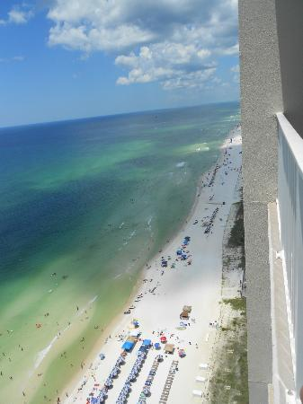 Tidewater Beach Resort: View to the west from balcony
