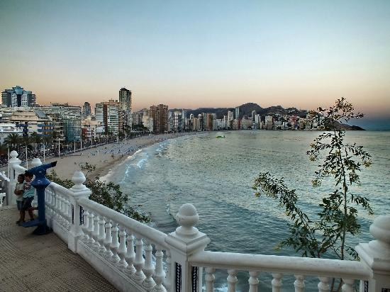 How Long Is Levante Beach Front