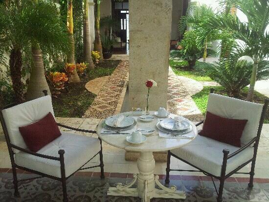 Casa Lecanda Boutique Hotel: Desayuno