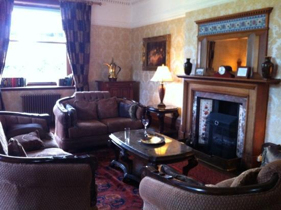 Bron Eifion Country House Hotel: lounge ...pic doesn't do it justice