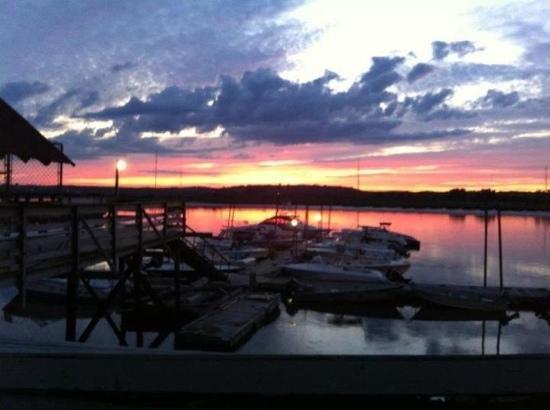 Sunset at Pesce Pazzo