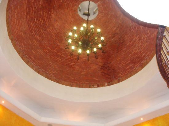 Royal Level at Occidental Cozumel: fabulous ceilings