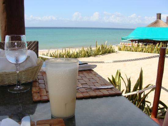 Royal Level at Occidental Cozumel: first pina of the day...yummy
