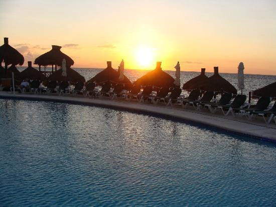 Royal Level at Occidental Cozumel: sunset