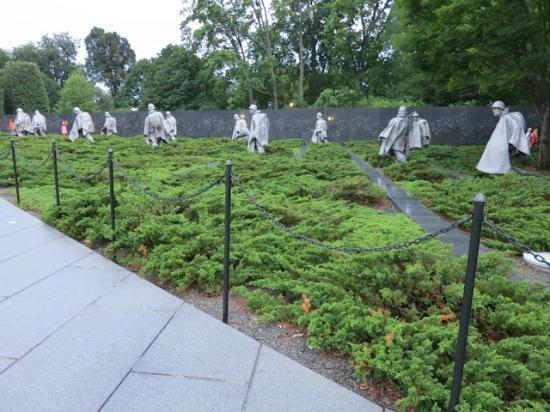 Context Washington Tours: Korean War Memorial