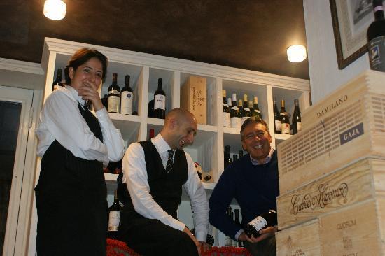 Magliano Sabina, Italia: in cantina