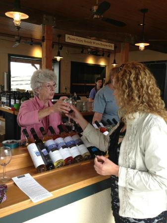 Boordy Vineyards: Wine Tasting. If you can find this woman there, she is the one who is amazing!!
