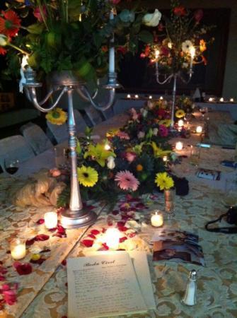 Castillo Santa Cecilia Hotel: banquete boda civil