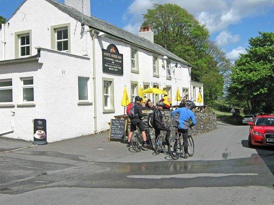 White Horse Inn: Part of Wainwright's coast to coast walk/cycling