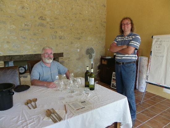 Château Feely: Sean talks about the wine and food