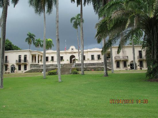Tropical Agriculture Research Station: Main Building