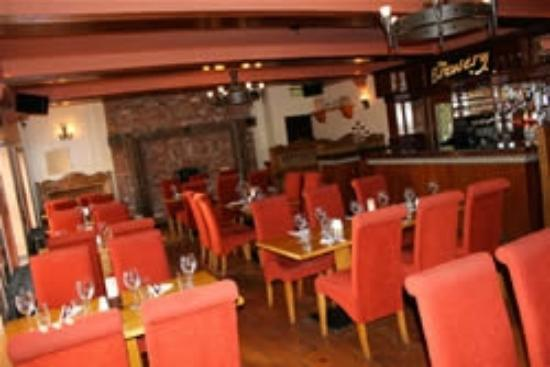 The Brewery Bar and Restaurant: The Beautiful Cosy, Rustic Feel A La Carte Restaurant