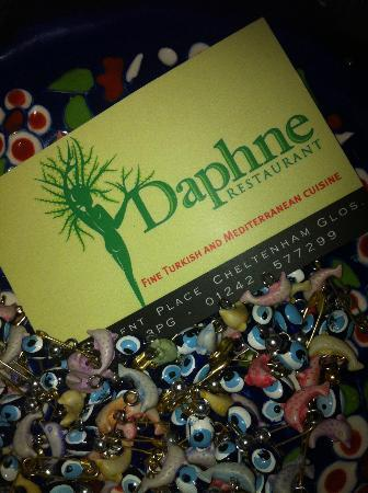 Daphne Restaurant: bowl of turkish eye charms