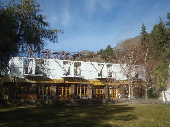 Hotel & Spa Termas Cacheuta: Habitaciones incendiadas