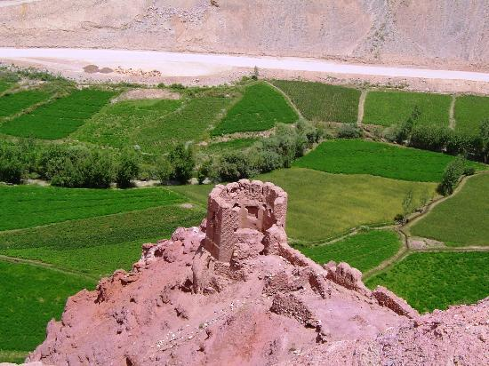 Cultural Landscape and Archaeological Remains of the Bamiyan Valley: A view from the hill at the Red City