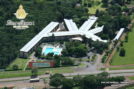 Dom Pedro I Palace Hotel: VISTA AEREA