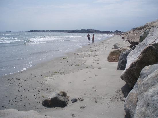 Nantasket Beach at high tide