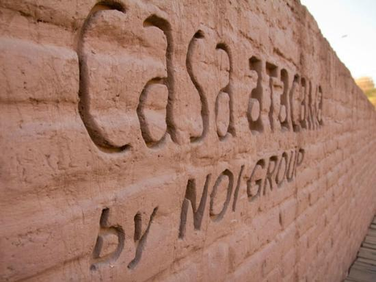 Hotel Noi Casa Atacama : Entrada