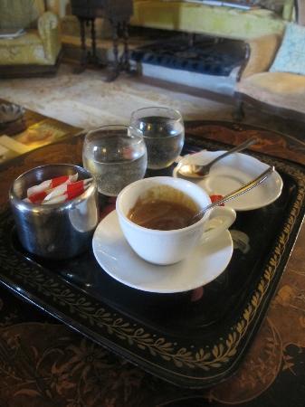 Pieve di Caminino Historic Farm : Espresso in the church