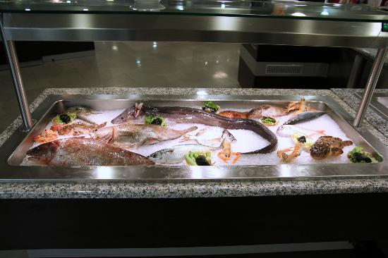 Wellness Hotel  Aurora: Not the usual fried hake/cod business
