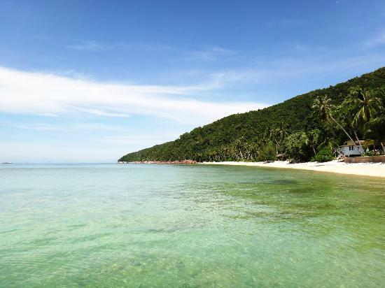 Redangkalong Resort : View of the beach
