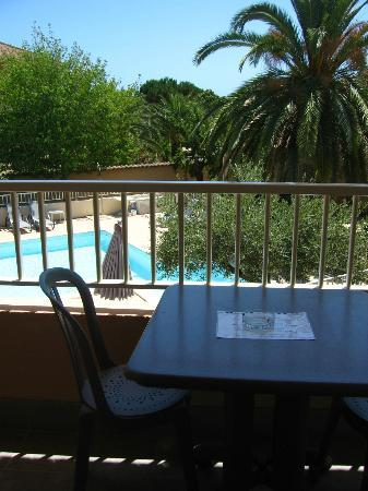 Hotel L'Empereur: Balcony