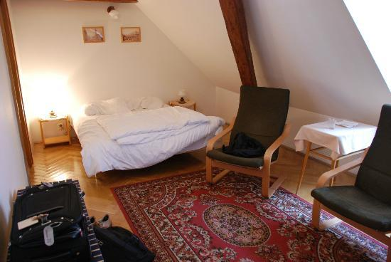 The Green Garland Pension: Chambre