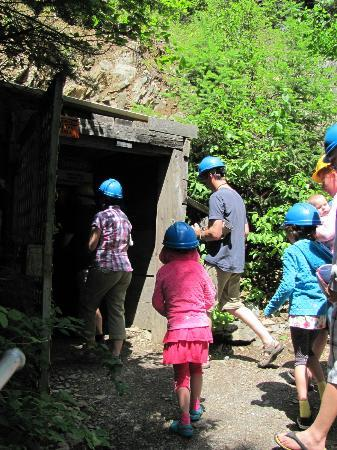 Wallace Mining Museum: The silver mine entrance