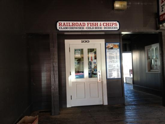 Railroad Fish & Chips: Best in Old Sacramento
