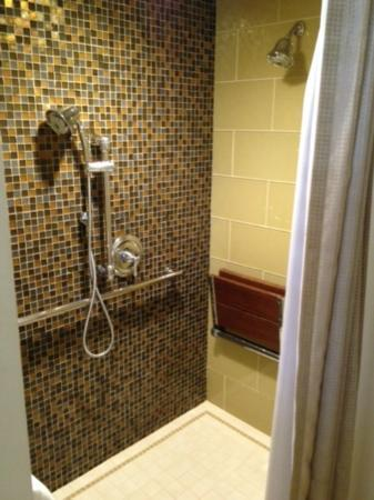 Fess Parker's Wine Country Inn and Spa: The spacious shower