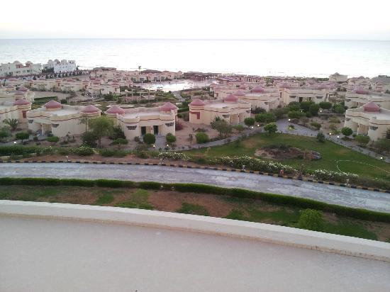 Al Nabila Grand Bay Makadi: View from balcony