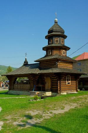 ‪St Elias Wooden Church‬
