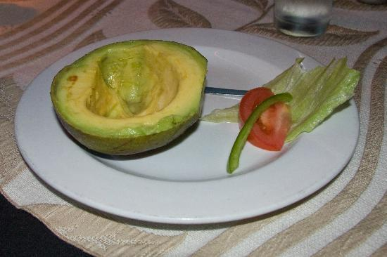 Alfredo's Restaurant : Fresh Avocado (without shrimp)