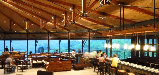 Rio Perdido: Afternoon at Restaurant