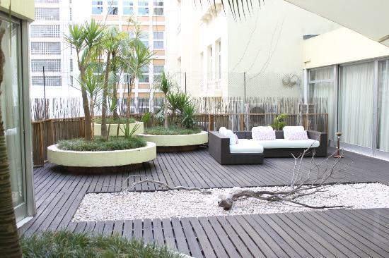 Hotel Florida: outside terrace