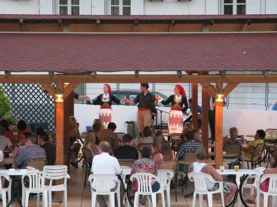 Hersonissos Hotel: Концерт.