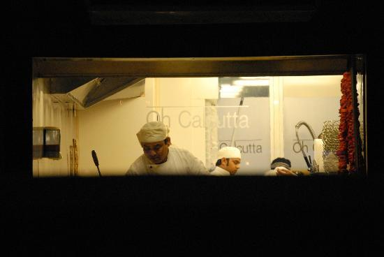Oh Calcutta Indian Cuisine & Tandoor: Chefs displaying there craft for all to see